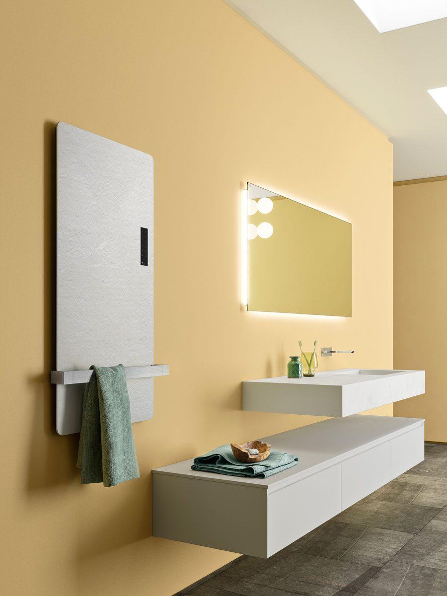 Heated towel rail Rock - Ibra